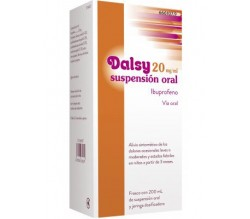 DALSY (20 MG/ML SUSPENSION ORAL 200 ML )
