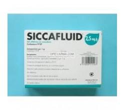 SICCAFLUID (2.5 MG/G GEL OFTALMICO 30 MONODOSIS 0.5 G )