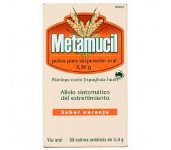 METAMUCIL (3.26 G 30 SOBRES POLVO )