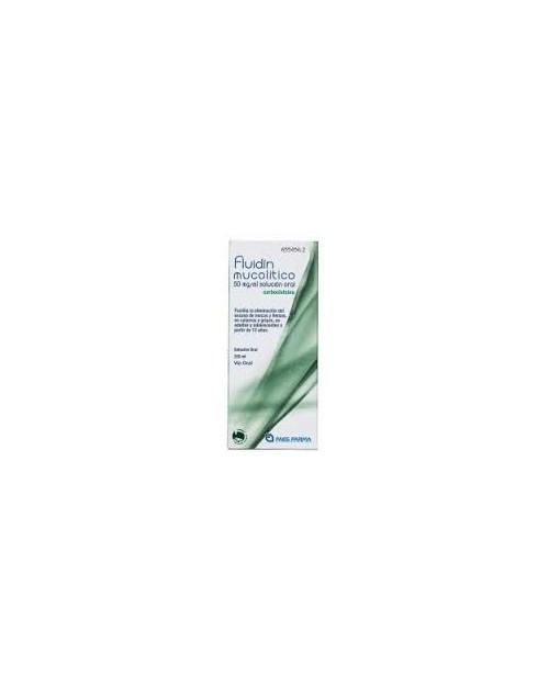 fluidin mucolitico (50 mg/ml solucion oral 200 ml )