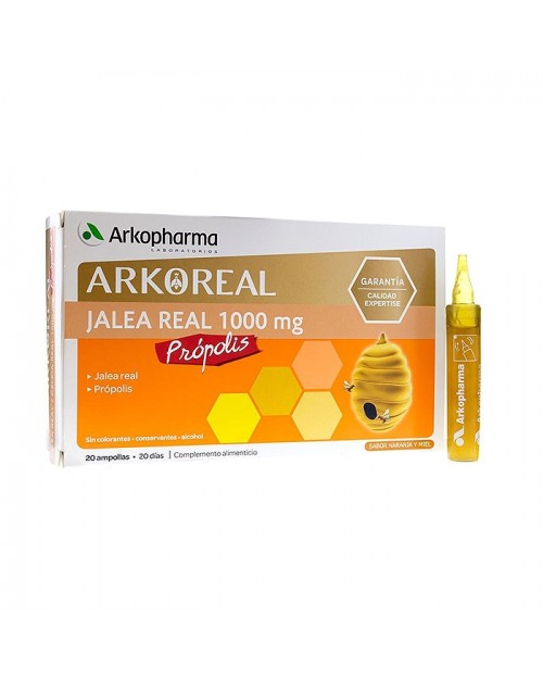 Arkoreal Jalea Real + Própolis 20 Ampollas